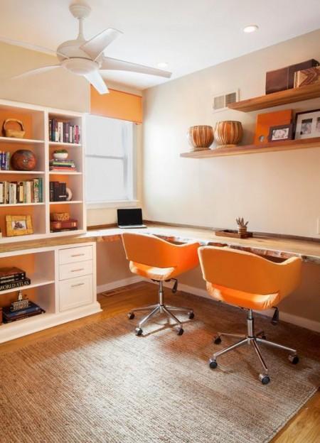 Poze Birou si biblioteca - Inspiratie pentru biroul de acasa