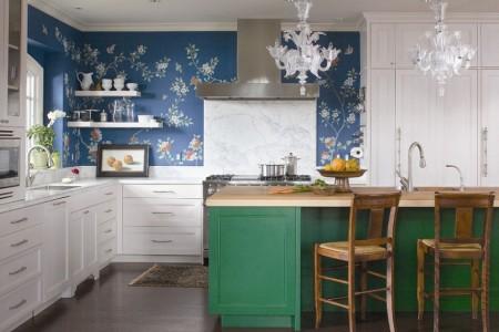 Poze Bucatarie - Indrazniti sa va jucati cu culorile chiar si in bucatarie!