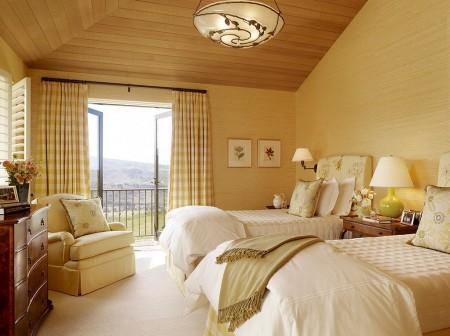 Poze Dormitor - Armonia culorilor intr-un dormitor mediteranean