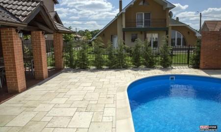 Poze Alei - Pavare in jurul piscinei cu dale Arvore de la Star Stone