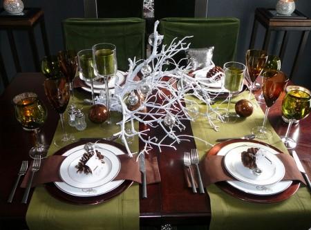 Poze Decoratiuni Craciun - Decor pentru masa de Revelion