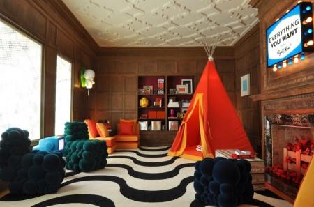 Poze Living - Un decor mai putln obisnuit pentru camera de zi