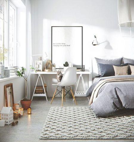 Poze Dormitor - Designul scandinav, o optiune la moda pentru decorarea dormitorului