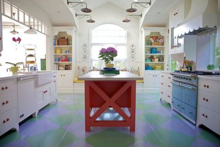 Poze Bucatarie - O abordare vintage in decorarea bucatariei