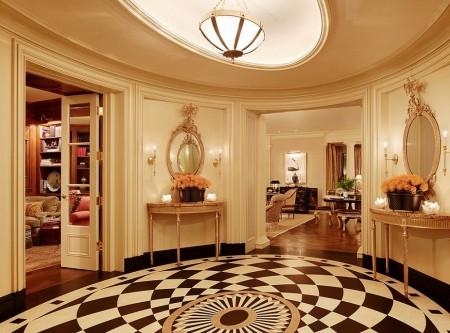Poze Intrare si hol - Simetria, trasatura esentiala a stilului clasic