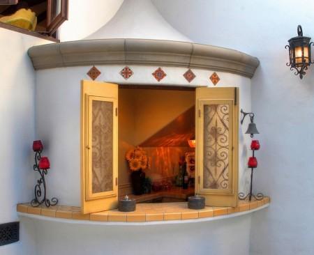 Poze Fatade - Detaliu fatada casa traditionala spaniola