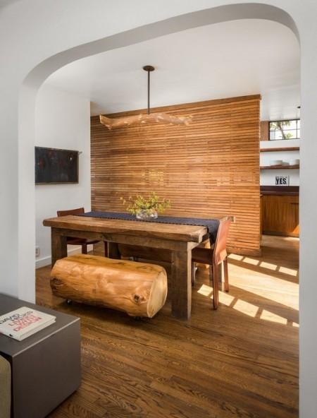 Poze Sufragerie - O abordare moderna a stilului rustic