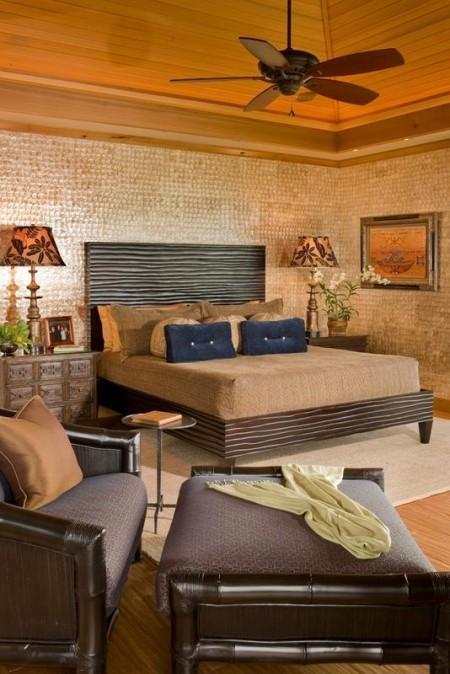 Poze Dormitor - Combinatii studiate de texturi si culori