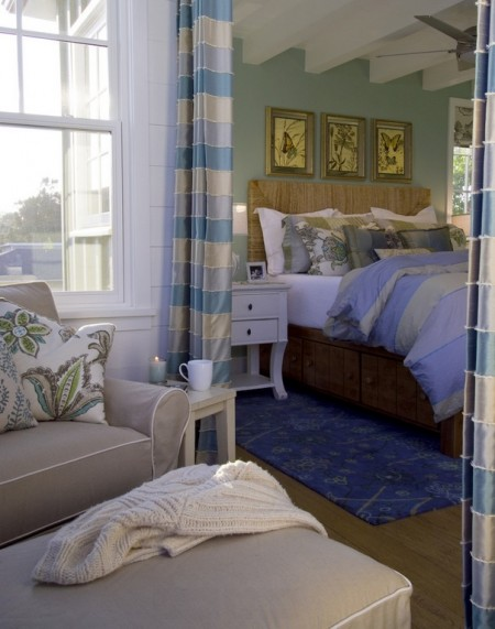 Poze Dormitor - Culori marine pentru o atmosfera reconfortanta, de vacanta