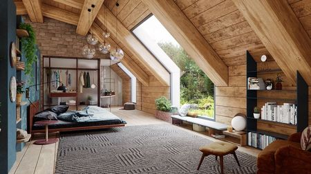 Poze Dormitor - dormitor-cabana-lemn-rustica-moderna-sticla-2.jpg