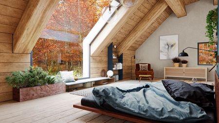 Poze Dormitor - dormitor-cabana-lemn-rustica-moderna-sticla-5.jpg