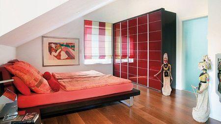 Poze Dormitor - Rosul, intr-un dormitor cu design modern