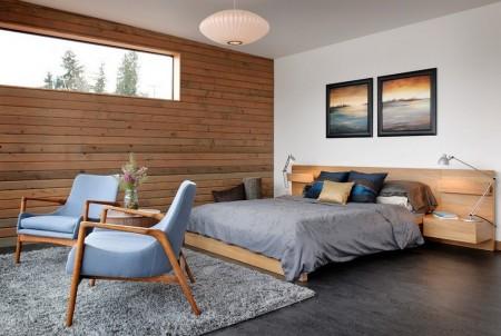 Poze Dormitor - Dormitor modern intr-o casa plutitoare