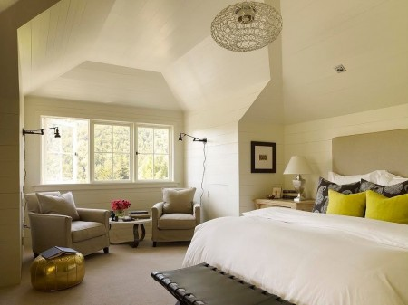 Poze Dormitor - Dormitor clasic la mansarda