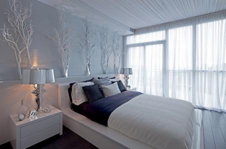 Poze Dormitor - Decor hibernal in dormitor