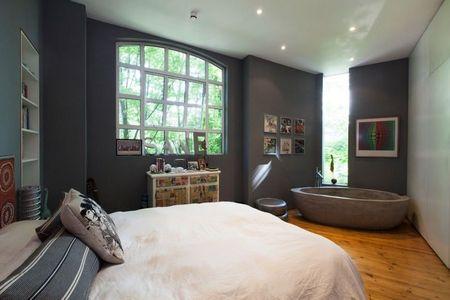 Poze Dormitor - Cada in dormitorul modern