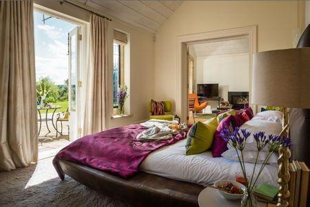 Poze Dormitor - Dormitorul cu design modern al unei case de vacanta