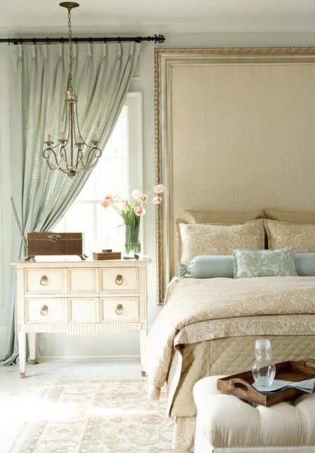 Poze Dormitor - Dormitor clasic cu influente shabby chic