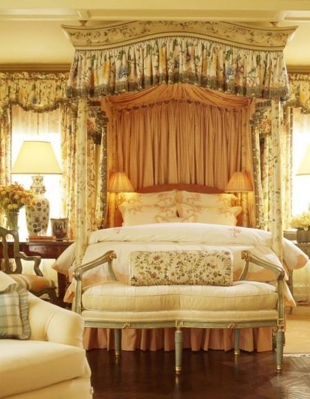 Poze Dormitor - Dormitor decorat in stil victorian