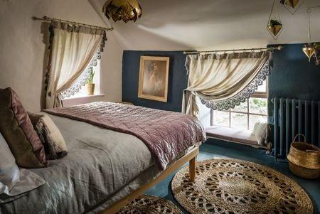 Poze Dormitor - Decor vintage in dormitorul de la mansarda