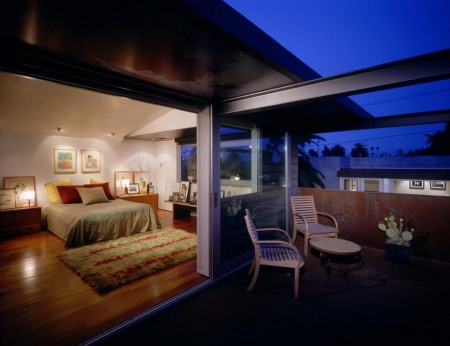 Poze Dormitor - Imagine amenajare dormitor modern, Palms Residence, Ehrlich Architects