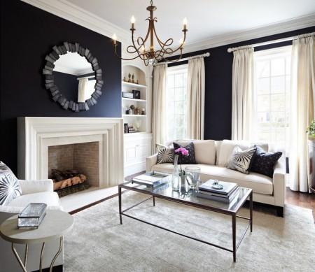 Poze Living - Eleganta in alb si negru