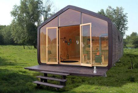 Poze Fatade - Casa din carton modulara