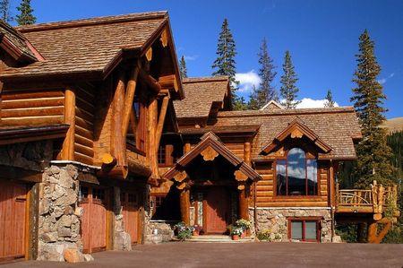 Poze Case lemn - Casa montana