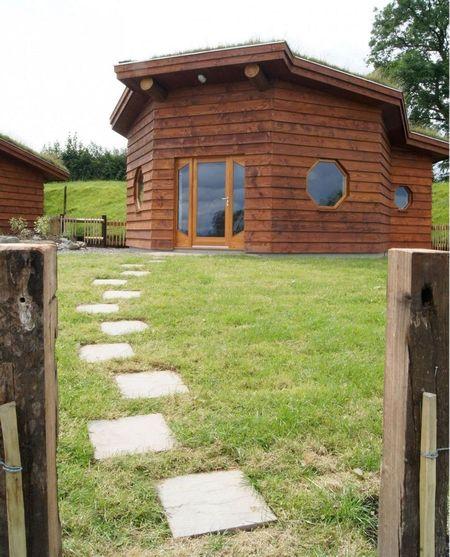 Poze Case lemn - Casuta ecologica construita din materiale naturale