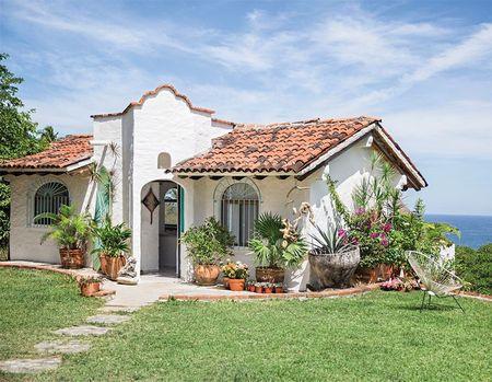 Poze Fatade - Casa in stil mediteranean construita in apropierea oceanului