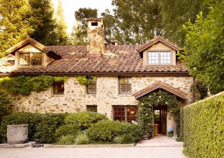 Poze Fatade - Fatada casa in stil rustic mediteranean
