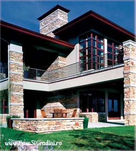 inspirata chiar si pentru fatada unei case cu o arhitectura moderna