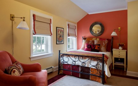 Poze Dormitor - Armonie cromatica