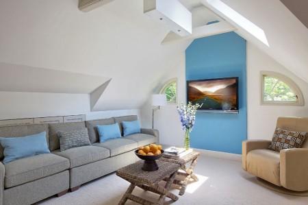 Poze Living - Spatiu de relaxare la mansarda