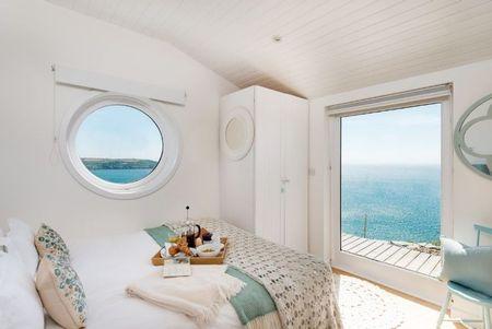 Poze Dormitor - Dormitor asemeni cabinei unui vapor
