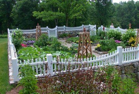 Poze Gradina legume - gard-alb-gradina-legume-decorativa.jpg