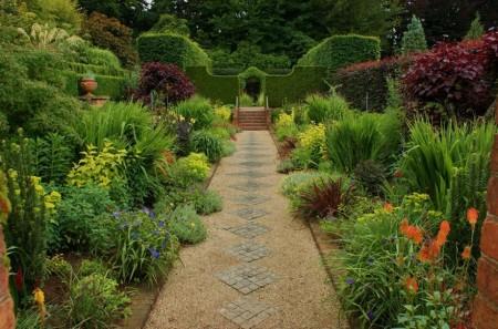 Poze Gradina de flori - Gradini formale englezesti, gradini mediteraneene