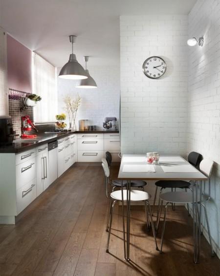 Poze Bucatarie - Design inspirat pentru bucatarii mici