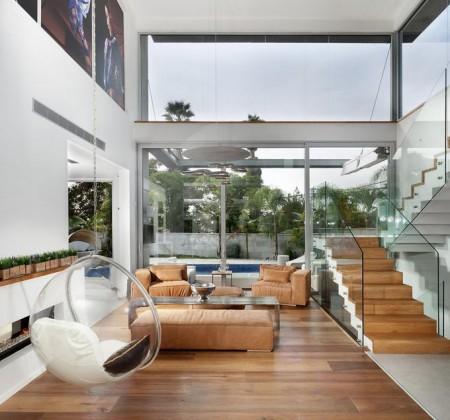 Poze Living - Sticla, un material al interioarelor moderne