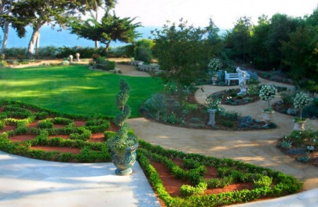 Poze Gradina de flori - Amenajare gradina formala