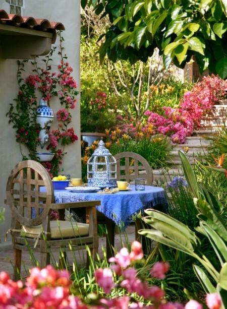 Poze Terasa - Albastrul in decorul mediteranean