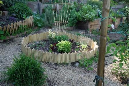 Poze Gradina legume - O gradina de legume plina de personalitate
