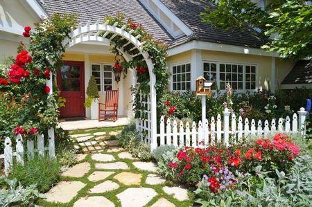 Poze Gradina de flori - Gradina traditionala cu flori