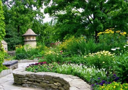 Poze Gradina de flori - Gradina rustica englezeasca