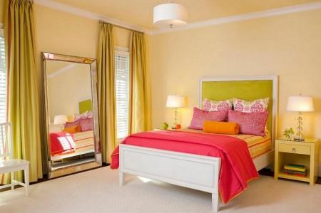 Poze Dormitor - Dormitor tineresc, plin de culoare