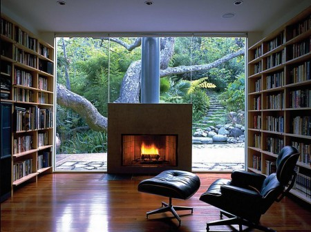 Poze Birou si biblioteca - Sala de lectura perfecta