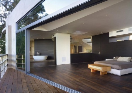 Poze Dormitor - Dormitor si baie matrimoniala moderne