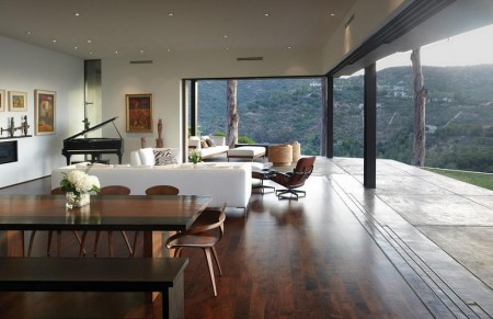 Poze Living - Livingul modern cu terasa