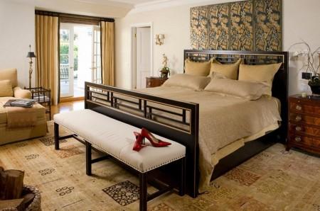 Poze Dormitor - Dormitor matrimonial amenajat traditional