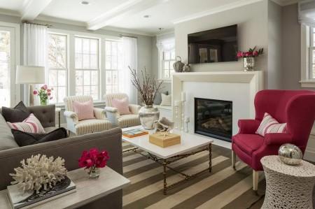 Poze Living - Interior clasic